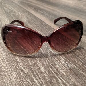 Well loved Ray Ban women's sunglasses